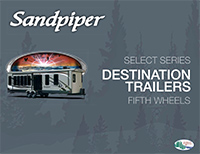 Sandpiper Destination Trailer Brochure