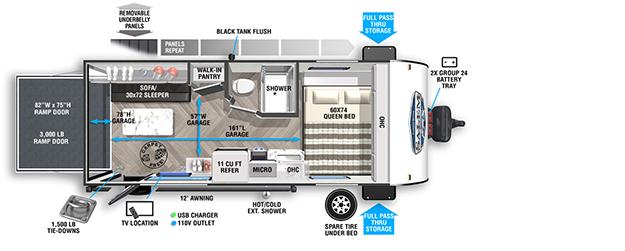 Salem FSX | Forest River RV - Manufacturer of Travel