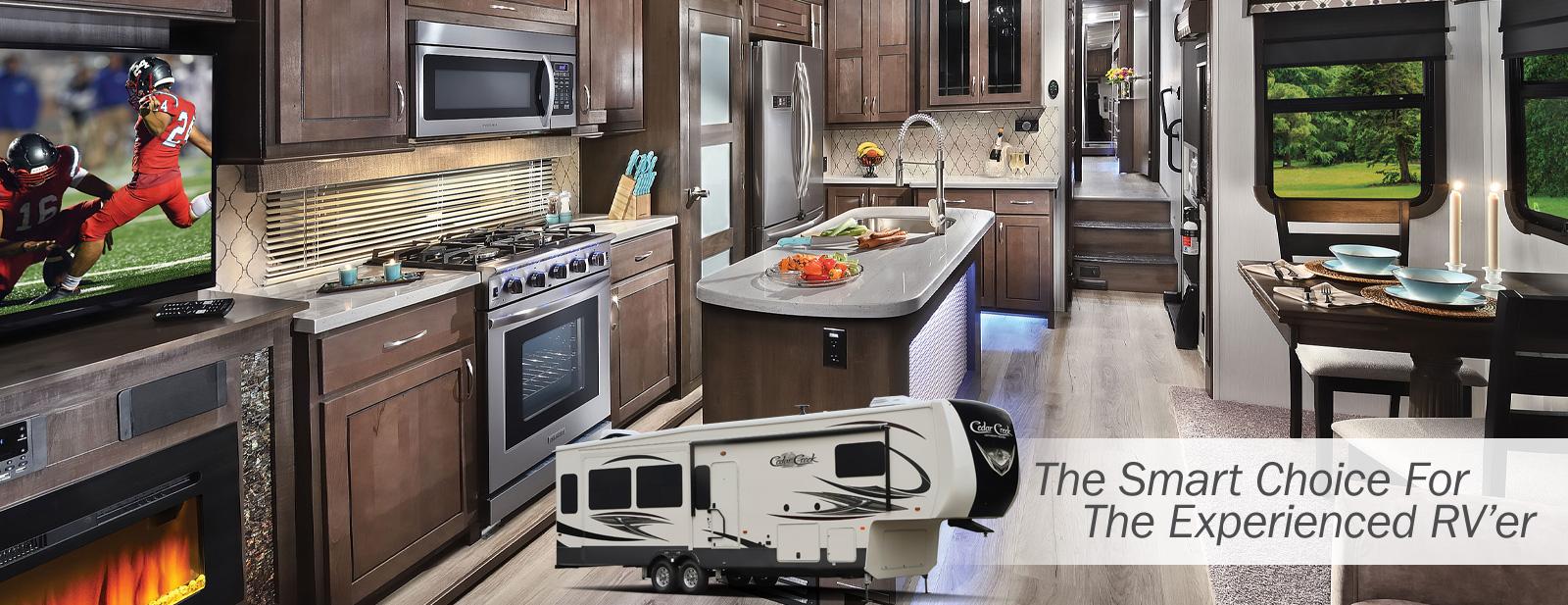 Cedar Creek Hathaway Edition Fifth Wheels by Forest River RV