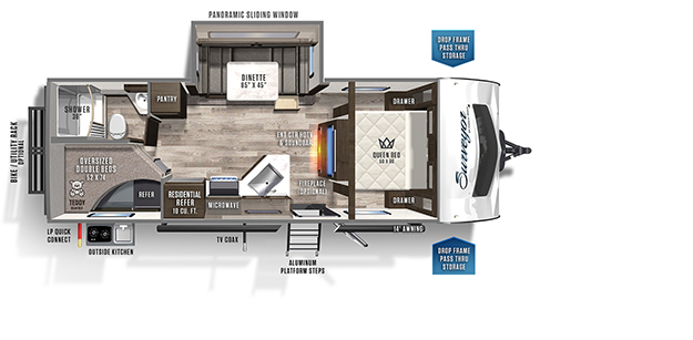 Surveyor Travel Trailers by Forest River RV on