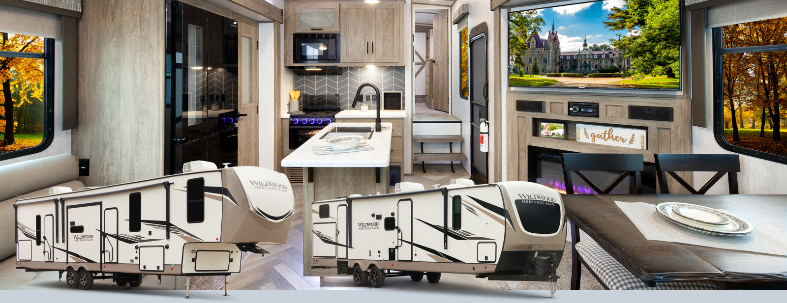Wildwood Heritage Glen LTZ Fifth Wheels / Travel Trailers by Forest on forest river mb wiring-diagram, forest river manuals, forest river parts, 2006 silverado 2500hd brake system schematics,