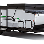 Rockwood Hard Side Camping Pop-Up Trailer Exterior (closed) May Show Optional Features. Features and Options Subject to Change Without Notice.