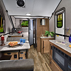 Flagstaff Hard-Side Tent Camper Interior May Show Optional Features. Features and Options Subject to Change Without Notice.