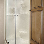 Radius Glass Door Shower