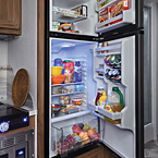 10.7 Cu. Ft. 12V Refrigerator May Show Optional Features. Features and Options Subject to Change Without Notice.
