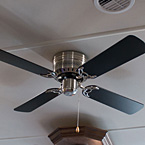Contemporary ceiling fan