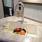 Residential Kitchen Faucet w/