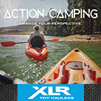 Action Camping - Change Your Perspective May Show Optional Features. Features and Options Subject to Change Without Notice.