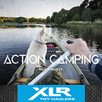 Action Camping - Ruffing It May Show Optional Features. Features and Options Subject to Change Without Notice.