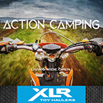 Action Camping - Living Wide Open May Show Optional Features. Features and Options Subject to Change Without Notice.
