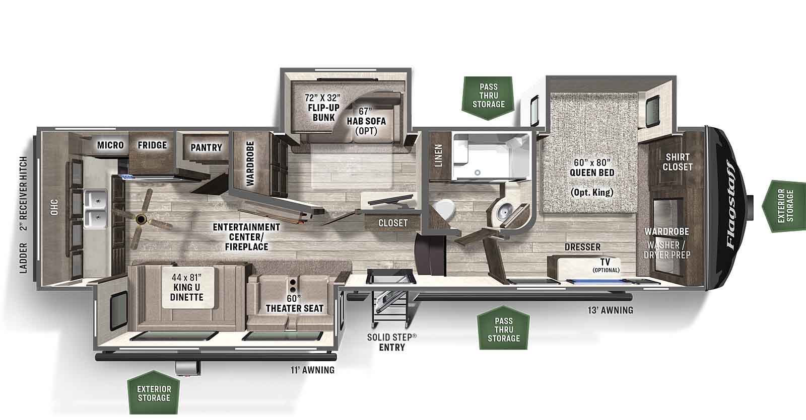 Flagstaff Super Lite Forest River Rv Manufacturer Of Travel Trailers Fifth Wheels Tent Campers Motorhomes