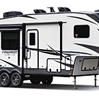 Flagstaff Super Lite Fifth Wheel Exterior (Optional White Fiberglass) May Show Optional Features. Features and Options Subject to Change Without Notice.