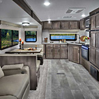 Flagstaff Super Lite Travel Trailer Interior (26FKBS Shown) May Show Optional Features. Features and Options Subject to Change Without Notice.