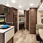 Rockwood Mini Lite Travel Trailer Interior May Show Optional Features. Features and Options Subject to Change Without Notice.