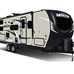 Rockwood Mini Lite Travel Trailer Exterior (Standard Champagne Fiberglass) May Show Optional Features. Features and Options Subject to Change Without Notice.
