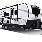 Rockwood Mini Lite Travel Trailer Exterior (Optional White Fiberglass) May Show Optional Features. Features and Options Subject to Change Without Notice.