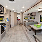 Rockwood Roo Hybrid Travel Trailer Interior May Show Optional Features. Features and Options Subject to Change Without Notice.