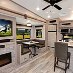 Rockwood Signature Travel Trailer Interior May Show Optional Features. Features and Options Subject to Change Without Notice.