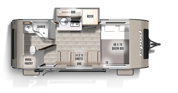 r-pod | Forest River RV - Manufacturer of Travel Trailers ... on
