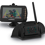 Furrion Rear Observation Camera System with digital wireless technology (sold separately) May Show Optional Features. Features and Options Subject to Change Without Notice.