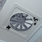 Three Speed Ventilation Fan May Show Optional Features. Features and Options Subject to Change Without Notice.