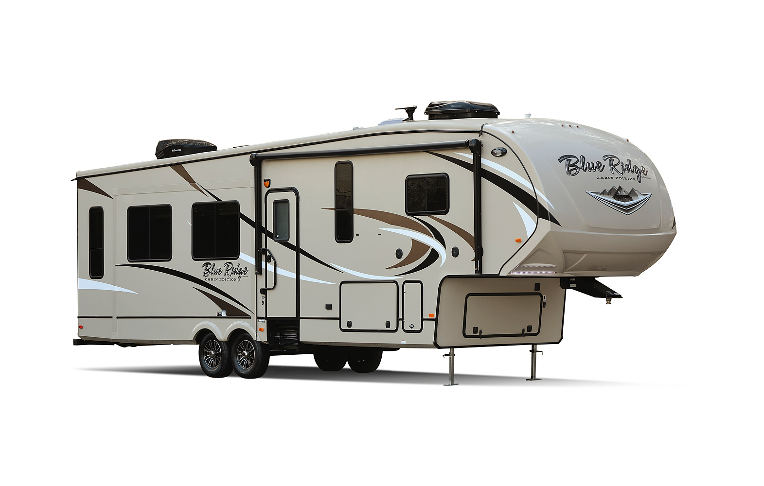 Blue Ridge Cabin Edition Fifth Wheels By Forest River Rv Typical Trailer Wiring Diagram In Addition Battery Interior And Exterior