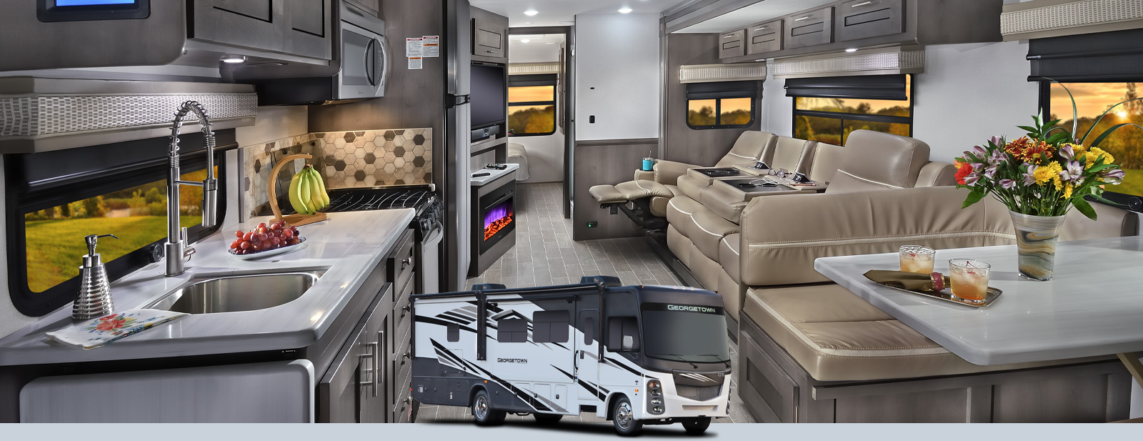 Georgetown 5 Series GT5 | Forest River RV - Manufacturer of Travel