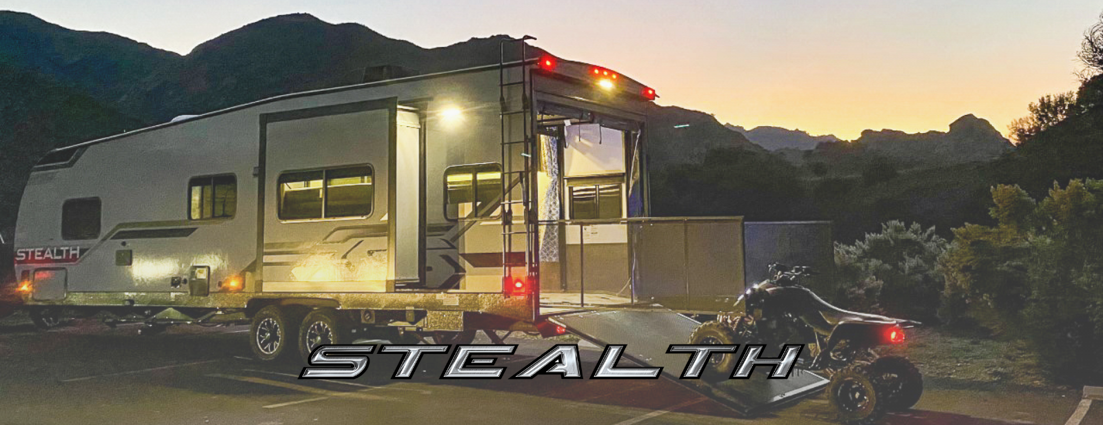 Stealth Travel Trailer And Fifth Wheel Toy Haulers