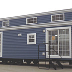 Heritage Blue Siding May Show Optional Features. Features and Options Subject to Change Without Notice.