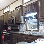 Countertop to Cabinet Tile Backsplash May Show Optional Features. Features and Options Subject to Change Without Notice.