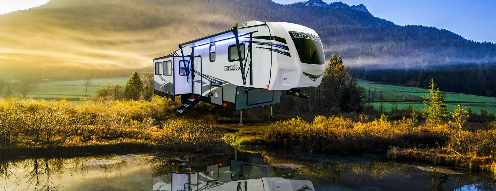 Impression Fifth Wheels / Travel Trailers by Forest River RV on