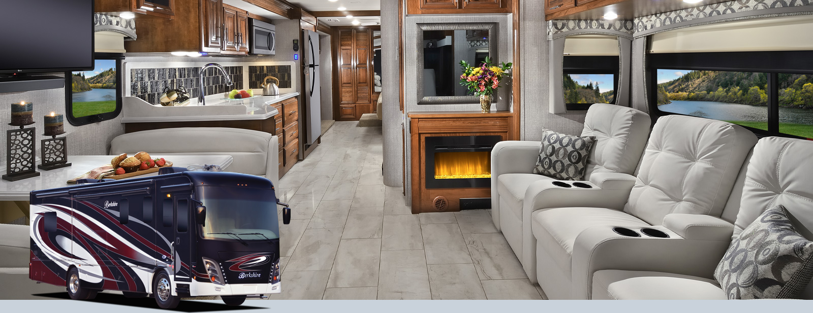Berkshire Class A Motorhomes By Forest River Rv
