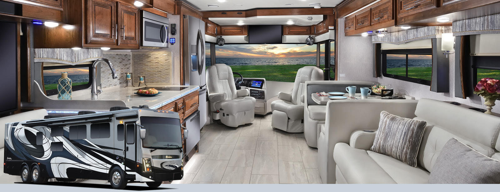 Berkshire Xlt Class A Motorhomes By Forest River Rv