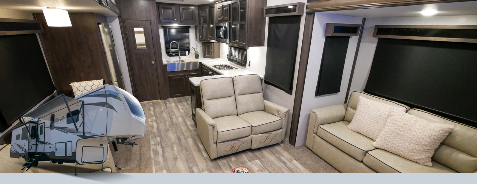Cardinal Explorer Fifth Wheels by Forest River RV on