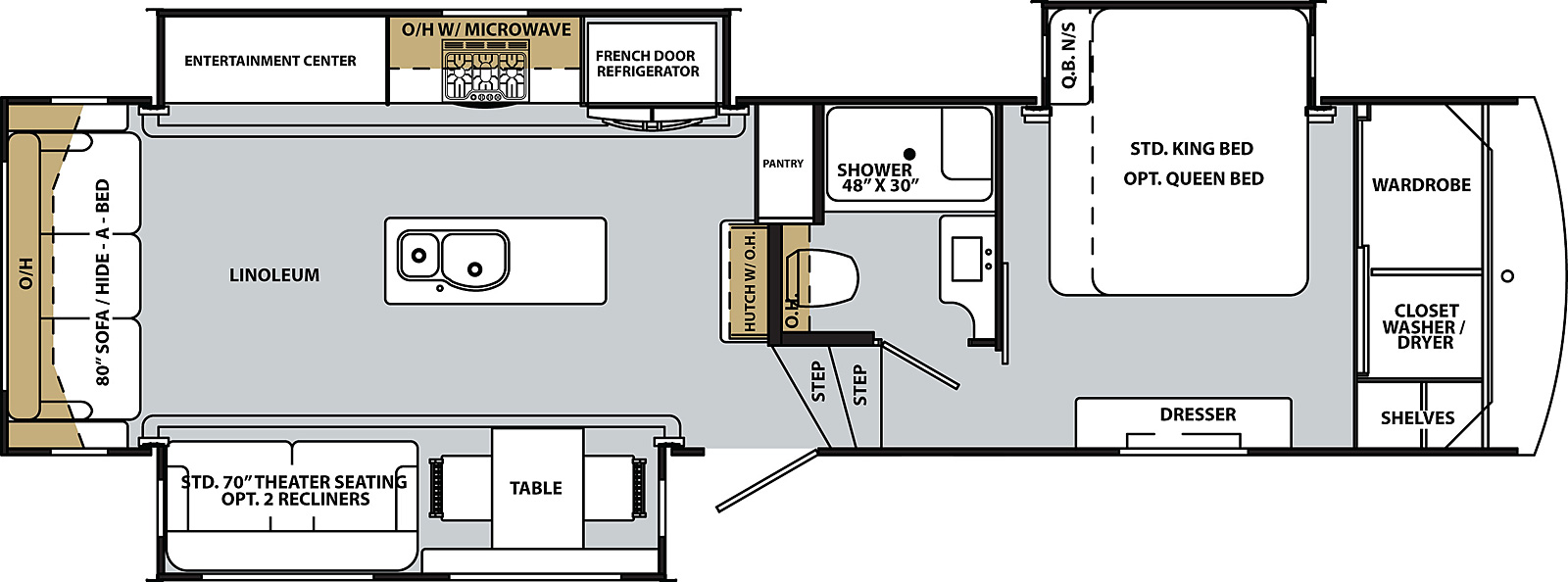 [DIAGRAM_5LK]  Cardinal Luxury 3350RLX | Forest River RV - Manufacturer of Travel Trailers  - Fifth Wheels - Tent Campers - Motorhomes | Forest River 5th Wheel Wiring Diagram |  | Forest River