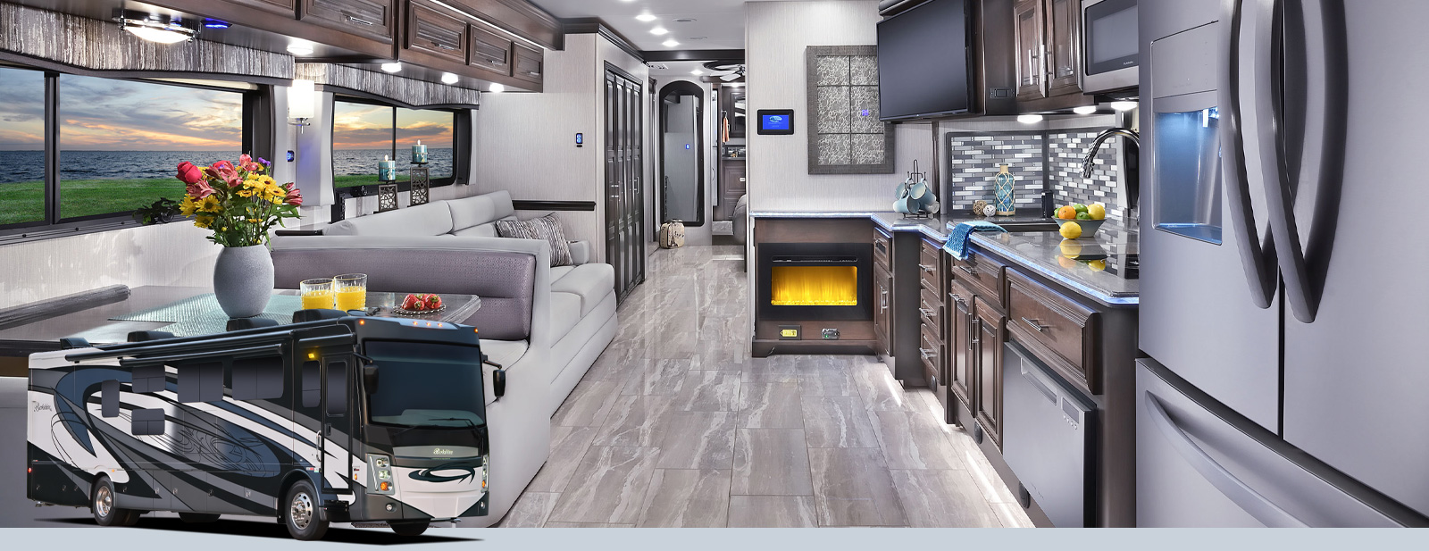 a1248f9cab4 Berkshire XL Class A Motorhomes by Forest River RV