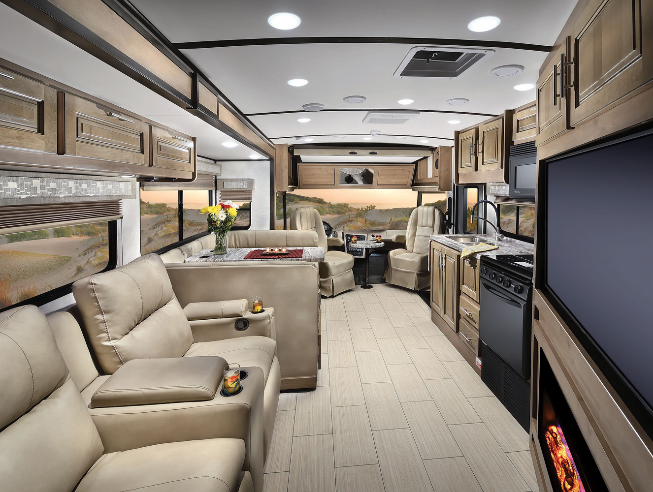 Fr3 Class A Motorhomes By Forest River Rv Vacuum Electrical Diagrams For Classa Withpushbutton Interior And Exterior