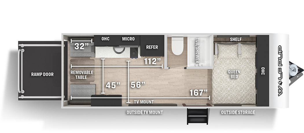 Wolf Pup   Forest River RV - Manufacturer of Travel Trailers