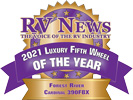 RV News 2021 Luxury Fifth Wheel of the Year - Cardinal 390FBX