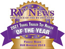 RV News 2021 Travel Trailer Toy Hauler of the Year - XLR Hyper Lite 2513