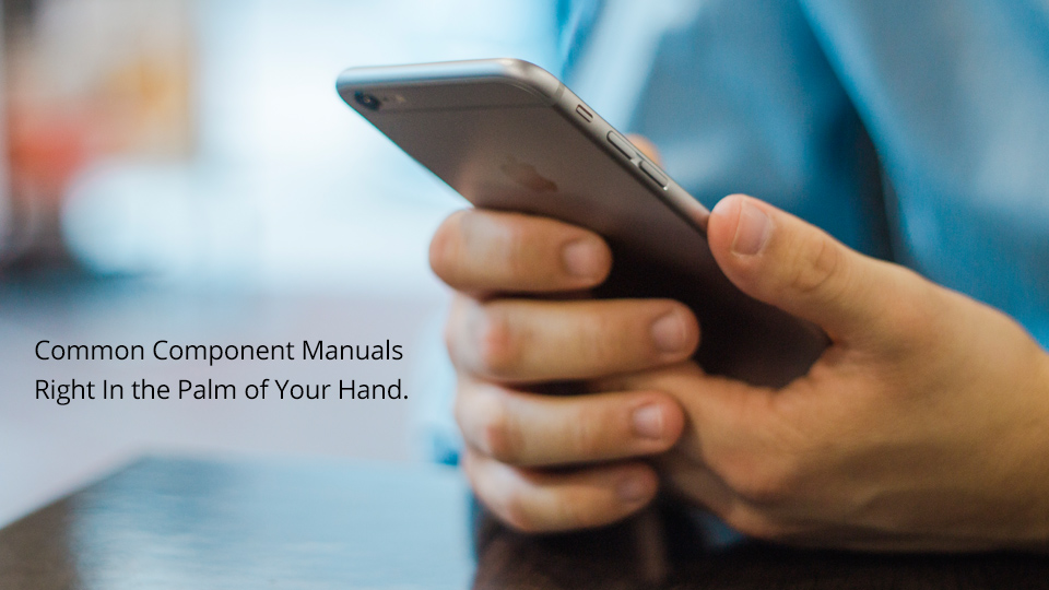 Access to Component Manuals for Quick Reference