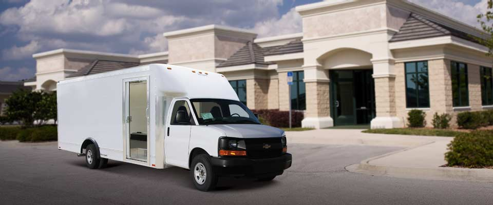 commercial Trucks, Parcel Delivery Van