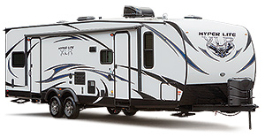Hyperlite Toy Hauler Travel Trailers