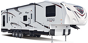 Nitro Toy Hauler Fifth Wheels