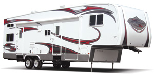 Stealth Toy Hauler Fifth Wheels