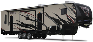 Vengeance Toy Hauler Fifth Wheels