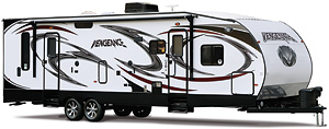 Vengeance Toy Hauler Travel Trailers