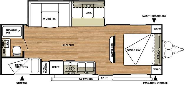 2013 Salem Floorplans Starr S Trailer Sales Brockway Pa