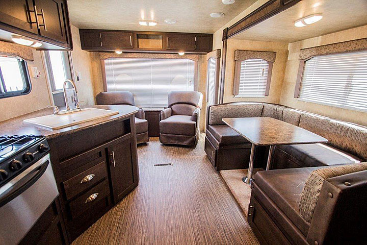 Evo Travel Trailer By Forest River
