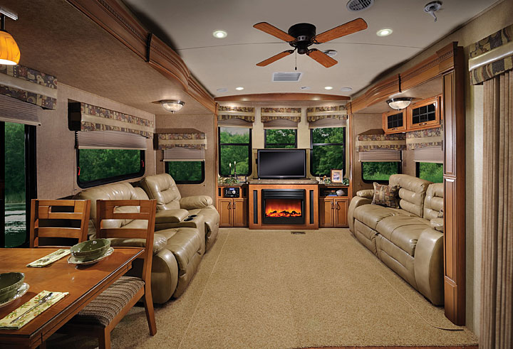Forest River Sandpiper Destination Destination Trailer By